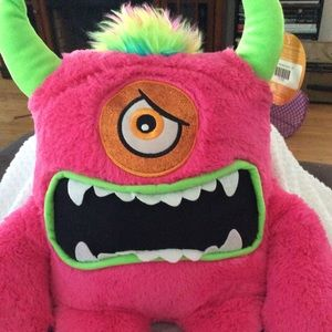 Other - Brand new stuffed cyclops pink and green from D&B